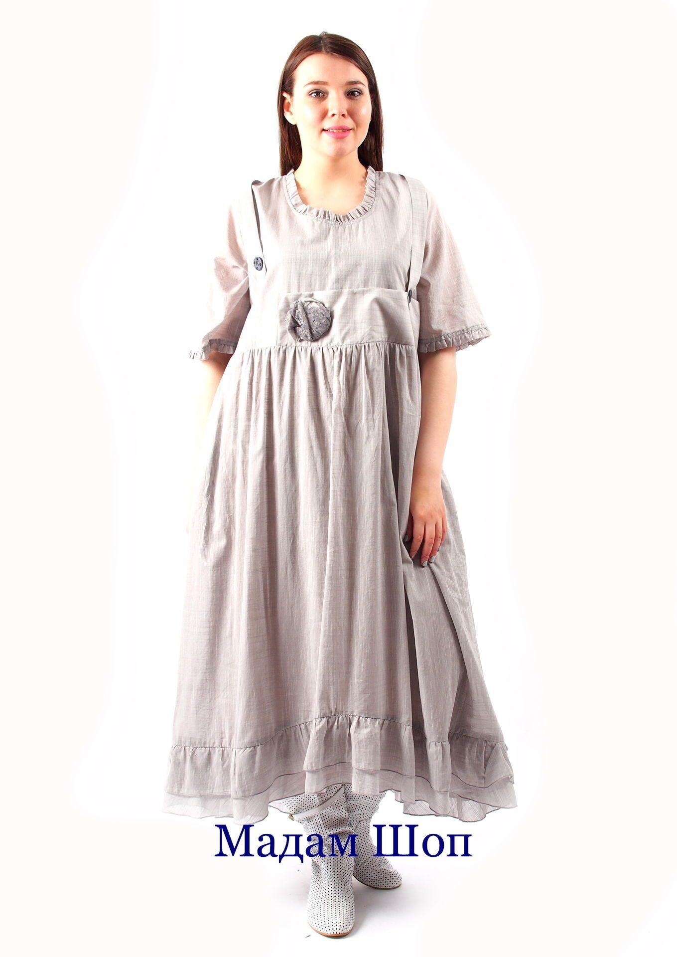 Стильные платья для полных из турции
