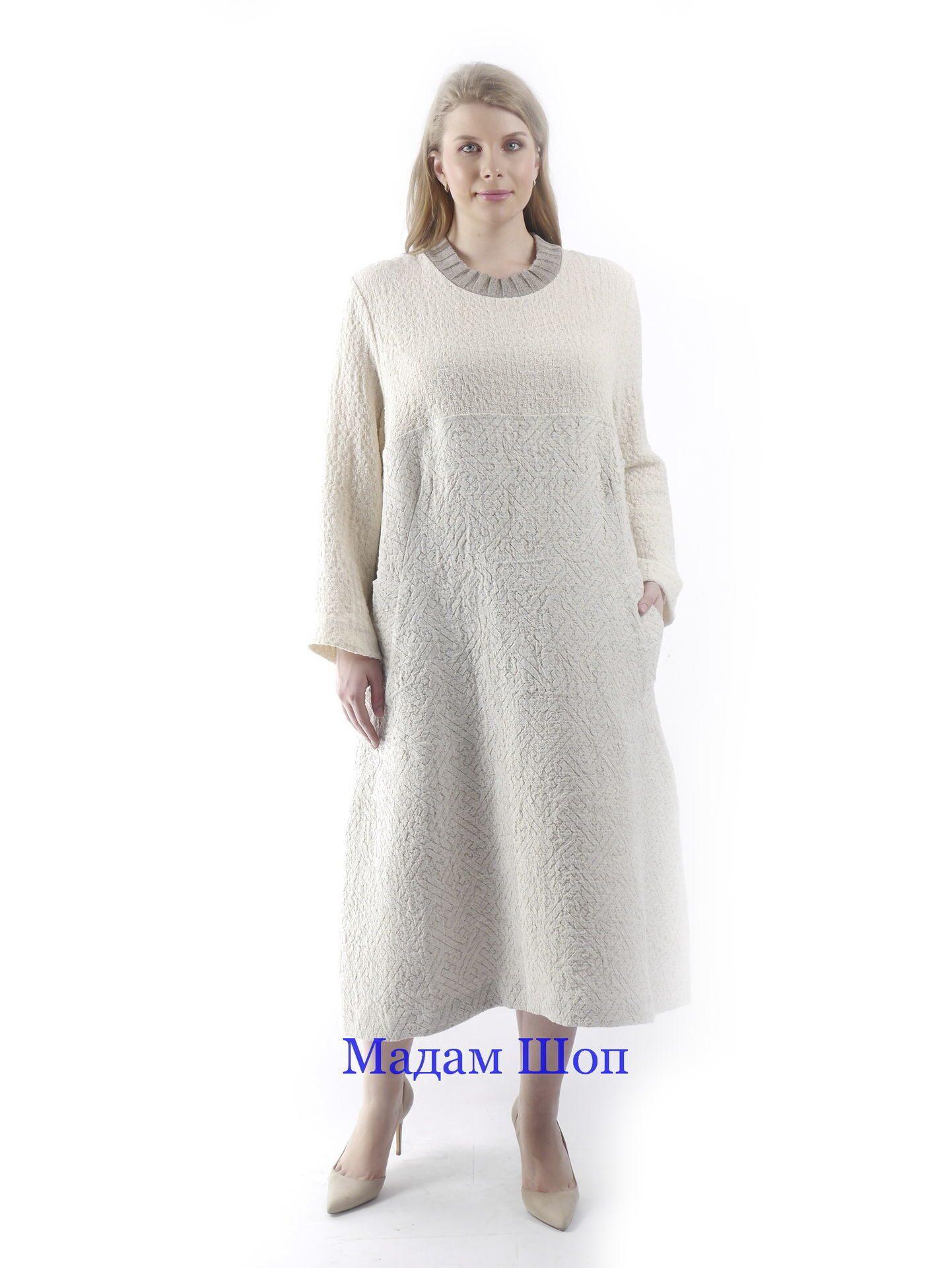 c7eb681a3794d0f Купить летнее белое льняное платье большого размера для полных ...